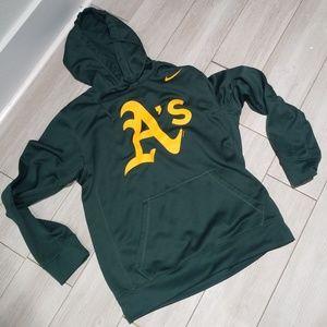 GUC Nike Oakland Athletics hoodie sweatshirt MLB s
